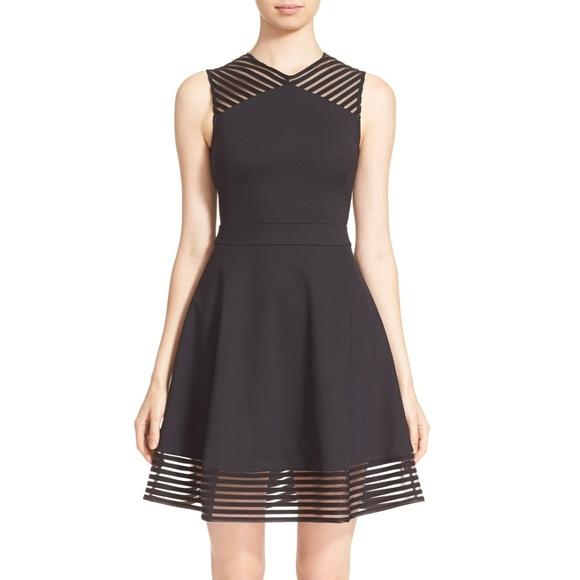 Ted Baker Dresses Black Skater Dress Poshmark
